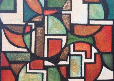 Cusma Simbología Shipibo | 100 x 120 | verkauft