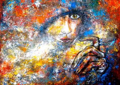 Gaia | 100 x 100 | verkauft