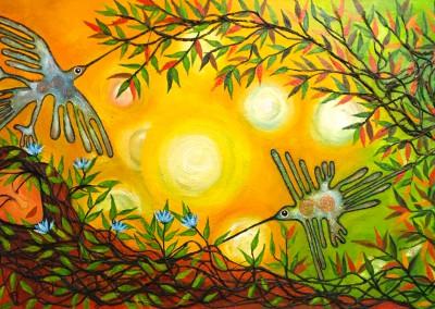 Ike papakolu | El mundo simbólico | die symbolische Welt | 160 x 80