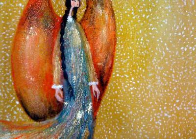 Killkiñawi | Ojos de ángel | 20 x 20 | verkauft