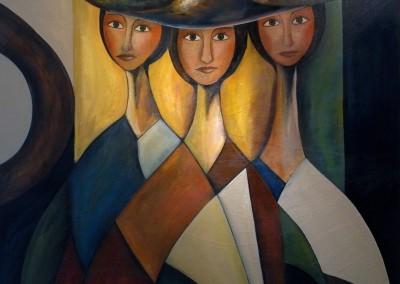 Mirada de mujer | 120 x 120