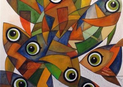 Challuakuna | Fische | 70 x 70