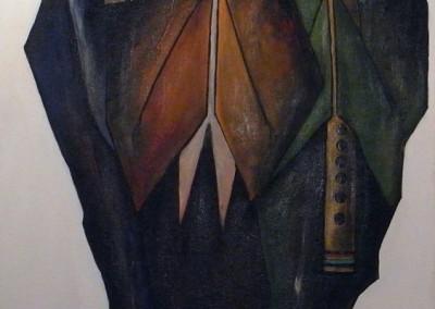 Takig Runakuna | singende Männer | 50 x 70