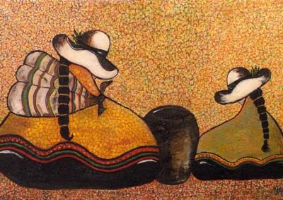 Urpi Chaska | Taube und Venus | 60 x 40