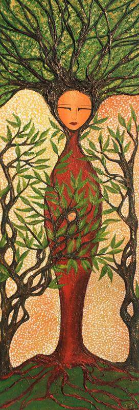 Willkamallqui | Arbol sagrado | 40 x 120