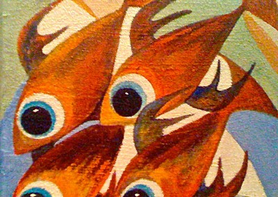 Pescados | Fische | Serie 3 | 20 x 20