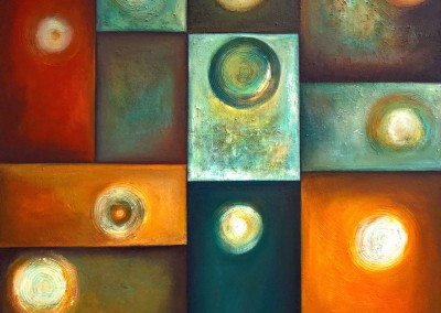 Yaku Kausay | El agua es vida | Wasser bedeutet Leben | 120 x 120