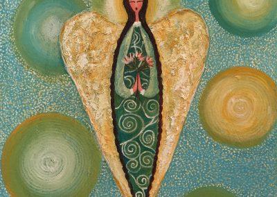 Angel celestial | Himmlischer Engel | 50 x 50