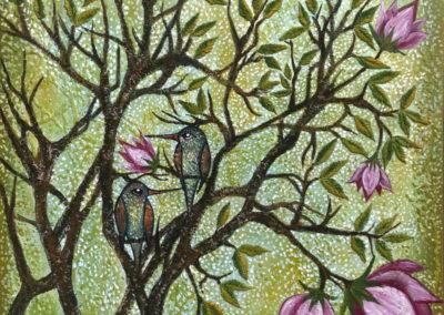 Primavera floral | Blütenfrühling | 50 x 50