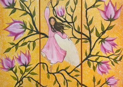 Entre Magnolias | 3 x 30 x 60