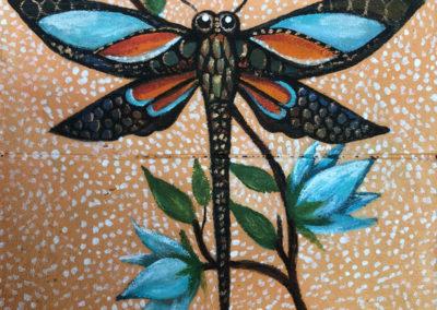 El vuelo de la libélula I | Der Flug der Libelle I | 15 x 15