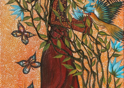 Paqariwarmy | Mujer eterna | Ewige Frau | 40 x 100