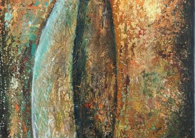 Shamsiel - Sol de Dios | Shamsiel - Sonne Gottes | 50 x 100