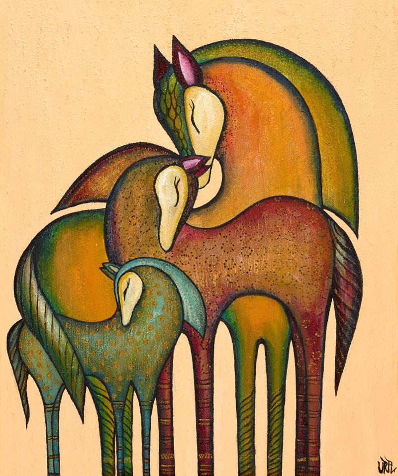Chaskasisa | Sternenblume | 60 x 70 | Copyright URPI