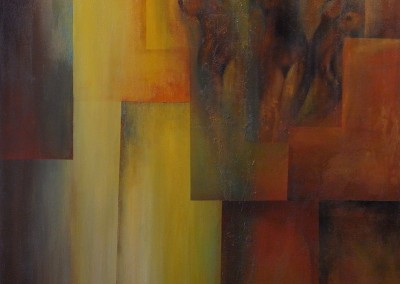 Esencia de mujer | Das Wesen der Frau | 100 x 100 | verkauft | Copyright URPI