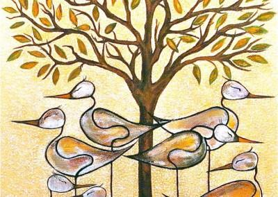 Esperando el invierno | 60 x 70 | verkauft | Copyright URPI