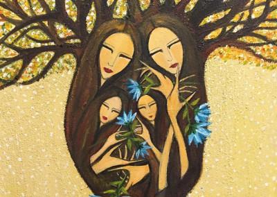 Ñañaykuna | Mis Hermanas | 24 x 30 | Copyright URPI