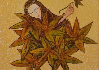 Otoño | Herbst | 20 x 20 | verkauft | Copyright URPI