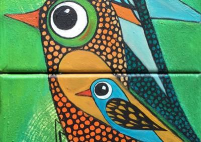 Pichiu | Ave colorada | B | 20 x 40 | Copyright URPI