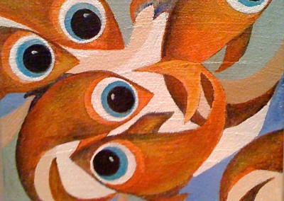 Pescados | Fische | Serie 1 | 20 x 20 | Copyright URPI