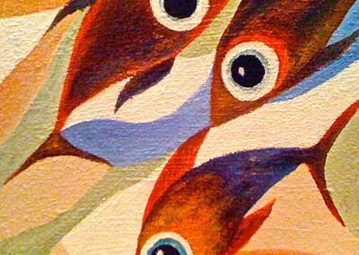 Pescados | Fische | Serie 2 | 20 x 20 | Copyright URPI