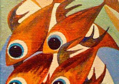 Pescados | Fische | Serie 3 | 20 x 20 | Copyright URPI