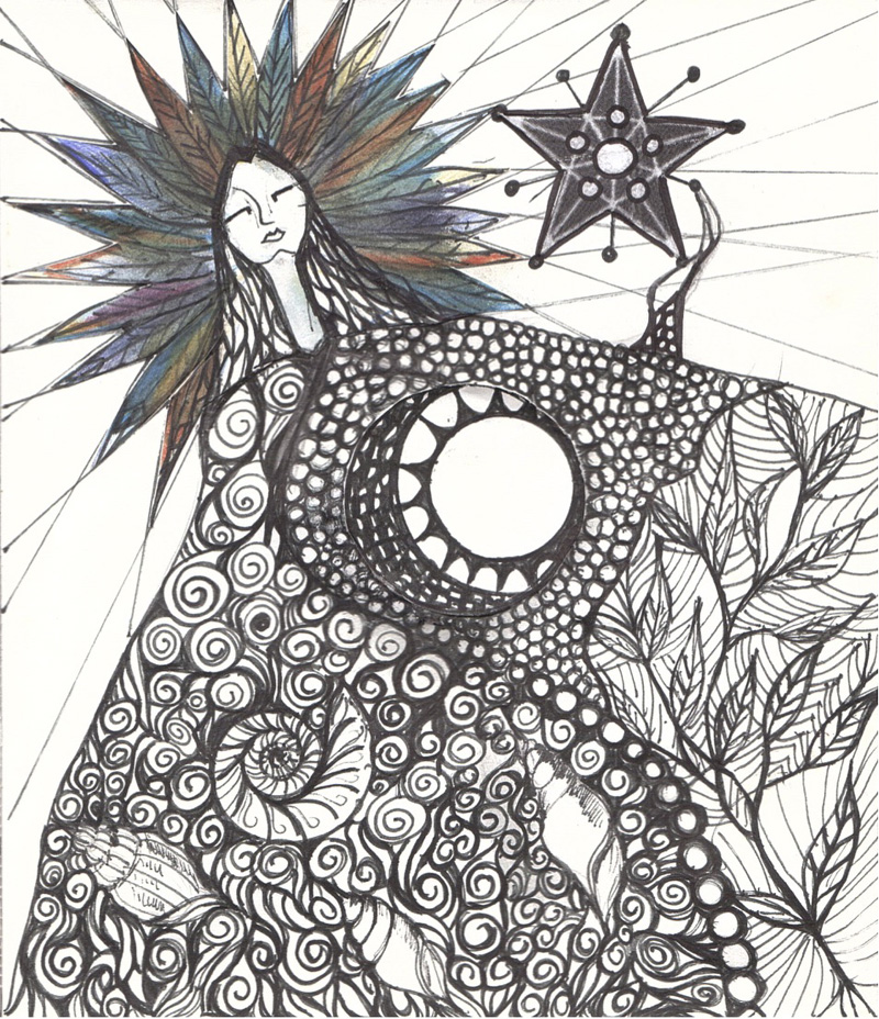 Mama Killa 1 | Grossmutter Mond | 100 x 100 | Copyright URPI