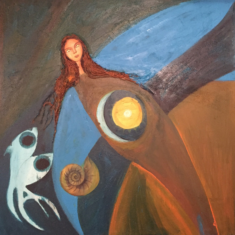 Mama Killa 4 | Grossmutter Mond | 100 x 100 | Copyright URPI