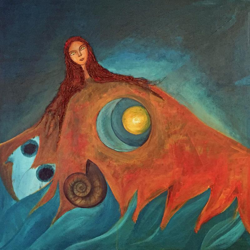 Mama Killa 5 | Grossmutter Mond | 100 x 100 | Copyright URPI