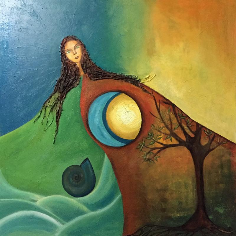 Mama Killa 7 | Grossmutter Mond | 100 x 100 | Copyright URPI