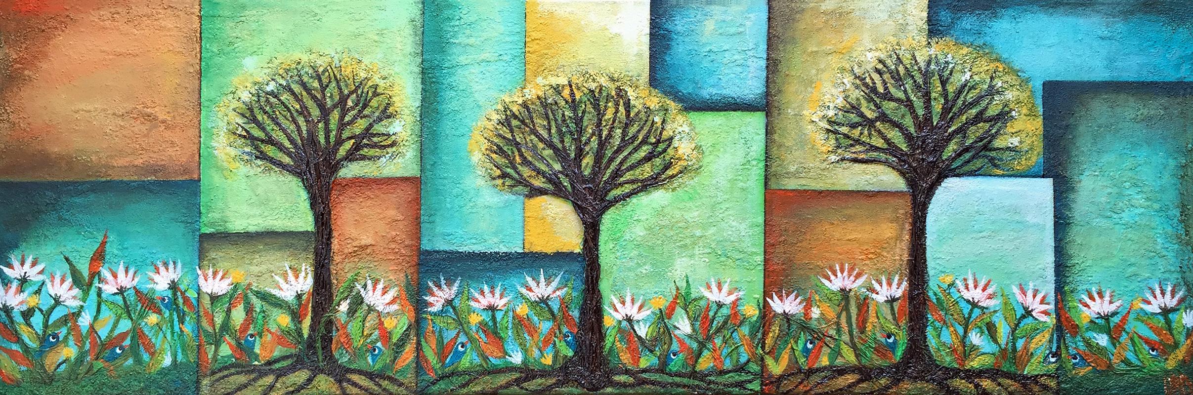 Un dia de primavera | Frühlingstag | 120x40 | Copyright URPI