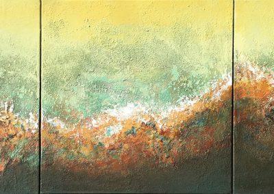 La montaña dorada | 3 x 50 x 50 | Copyright URPI
