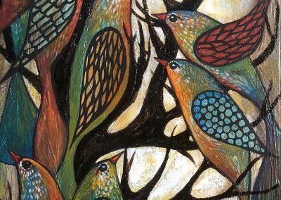 Aves de vida | Lebensvögel | 30 x 90 | Copyright URPI
