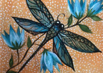 El vuelo de la libélula II | Der Flug der Libelle II | 15 x 15 | Copyright URPI