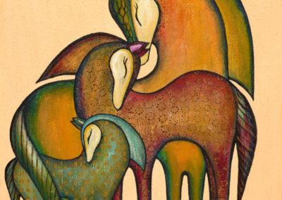 Lazos eternos | Ewige Verbindungen | 48 x 58 | Copyright URPI