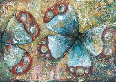 Mariposa fugaz | Flüchtiger Schmetterling | 60 x 90 | Copyright URPI