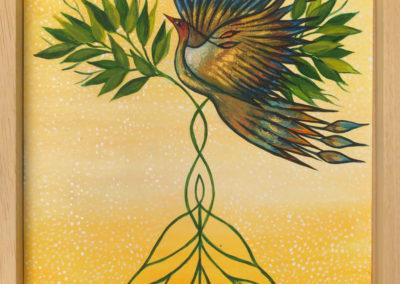 Arbol de vida | Baum des Lebens | 35 x 35 | Copyright URPI
