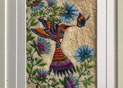 Arcoiris colibí | Regenbogenkolibri | 32 x 45 | Copyright URPI