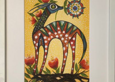 Gacela primaveral | Frühlingsgazelle | 20 x 29 | Copyright URPI
