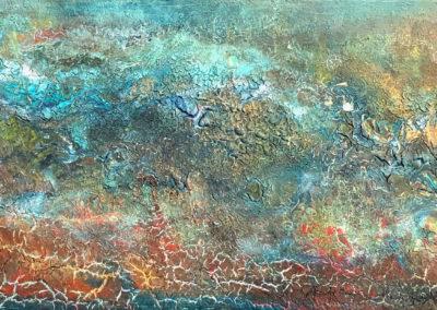 Mi tierra | Meine Erde | 90 x 30 | Copyright URPI